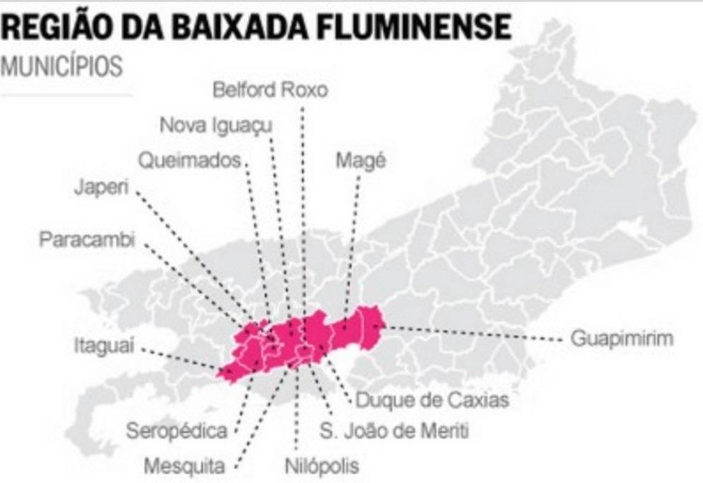 agência panfletar na Baixada Fluminense